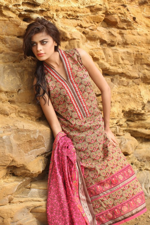 Khaadi Unstitched Lawn Colletion 2014 for United States Women (3)