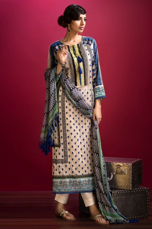 Khaadi Unstitched Lawn Colletion 2014 for United States Women (6)