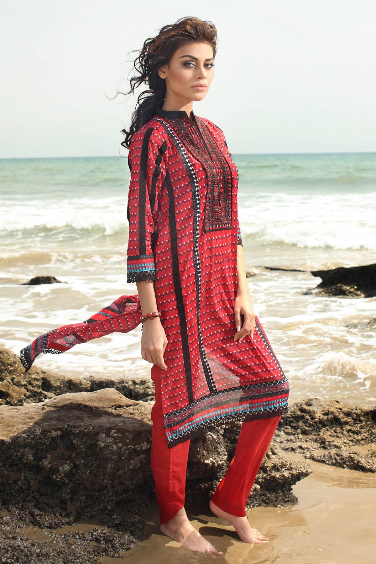 Khaadi Unstitched Lawn Colletion 2014 for United States Women (8)